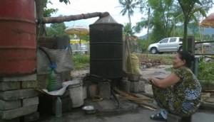 Chế biến tinh dầu tràm bằng phương pháp thủ công truyền thống
