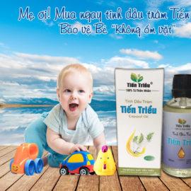 Tinh dầu tràm có nhiều tác dụng tốt cho các mẹ có con nhỏ